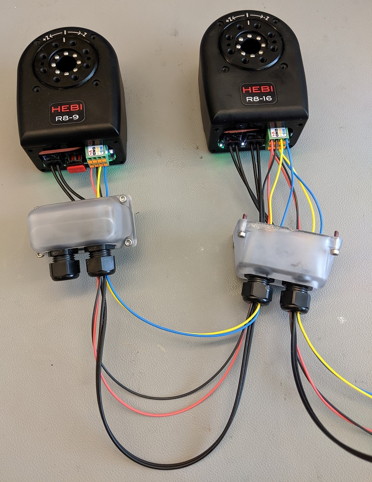 two r actuators